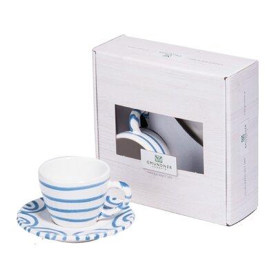 Gmundner Keramik Espressotasse Geflammt