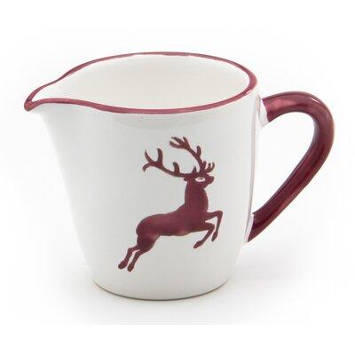 Gmundner Keramik 200 ml Milchkännchen Gourmet Hirsch