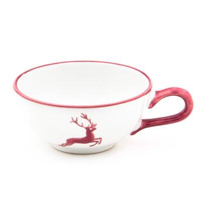Gmundner Keramik Teetasse Hirsch