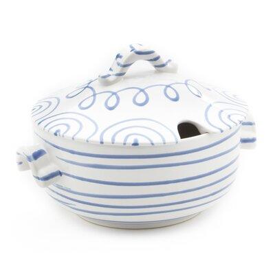 Gmundner Keramik 2 L Suppentopf Geflammt mit Deckel