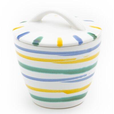 Gmundner Keramik Zuckerdose Gourmet mit Deckel
