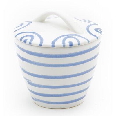 Gmundner Keramik Zuckerdose Gourmet Geflammt mit Deckel