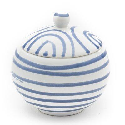 Gmundner Keramik Zuckerdose Geflammt mit Deckel