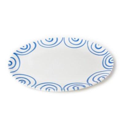 Gmundner Keramik Servierplatte Geflammt