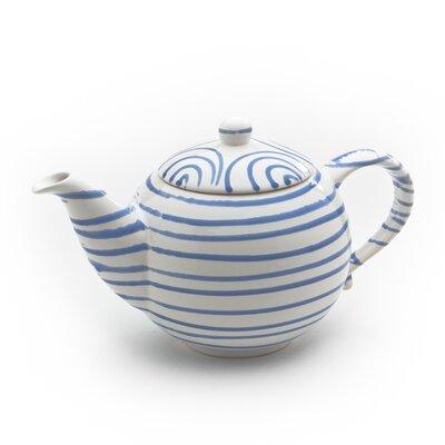 Gmundner Keramik Teekanne Geflammt aus Keramik