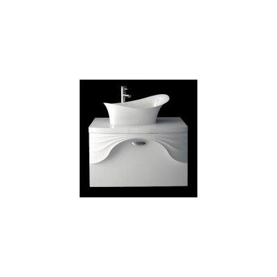 Sanitti 81 cm B 1 Waschbecken mit Waschbeckenunterschrank