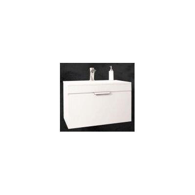 Sanitti 61 cm B 1 Waschbecken mit Waschbeckenunterschrank Savona