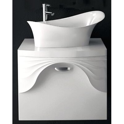 Sanitti 61 cm B 1 Waschbecken mit Waschbeckenunterschrank