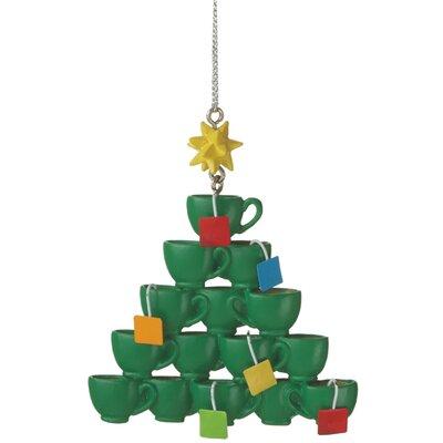Wafer Tea Cup Tree Ornament
