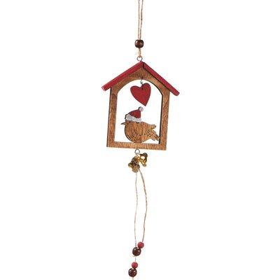 Bird in Birdhouse Ornament