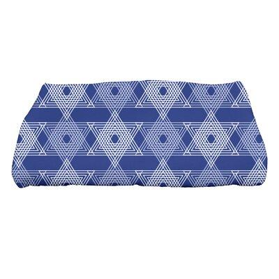 Hannukah Star Light Bath Towel Color: Blue