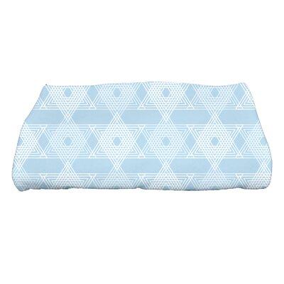 Hannukah Star Light Bath Towel Color: Light Blue