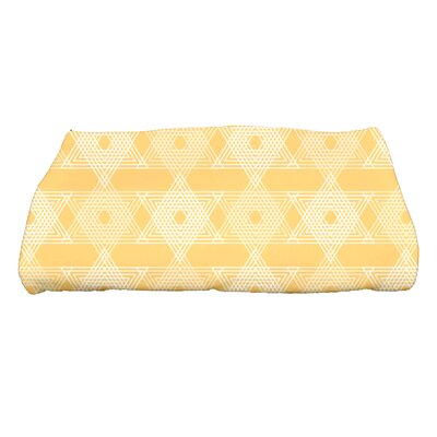 Hannukah Star Light Bath Towel Color: Yellow