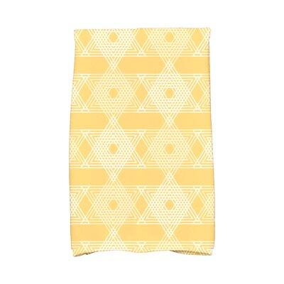 Hannukah Star Light Hand Towel Color: Yellow