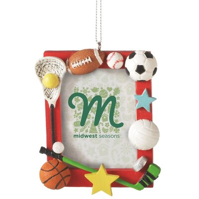 Sport Frame Ornament