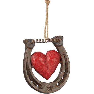Horseshoe Heart Ornament