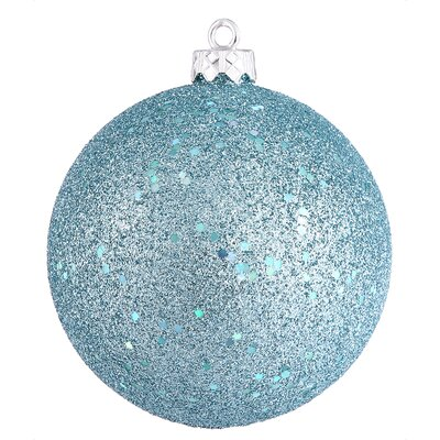 Assorted Ball Drilled Christmas Ornament Color: Baby Blue