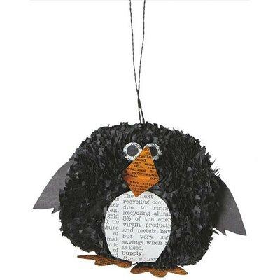 Penguin Pom Pom Ornament