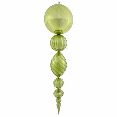 Finial Ornament Color: Lime
