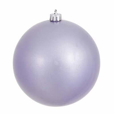 Christmas Ball Ornament with Cap Color: Lavender