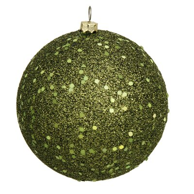 Assorted Ball Drilled Christmas Ornament Color: Gold
