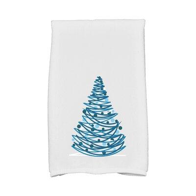 Jump for Joy Oh Christmas Tree Hand Towel Color: Gray
