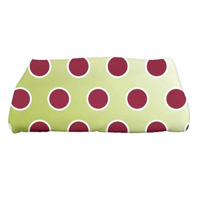 Jump for Joy Holiday Bubbly Bath Towel Color: Light Green