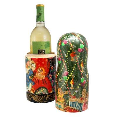 Fifer X-Mas Tree 1 Bottle Tabletop Wine Rack