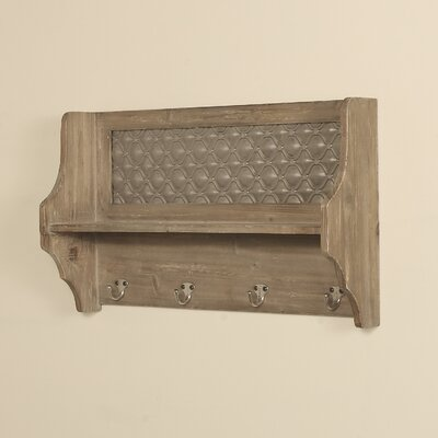 Brampton Coat Rack with Shelf