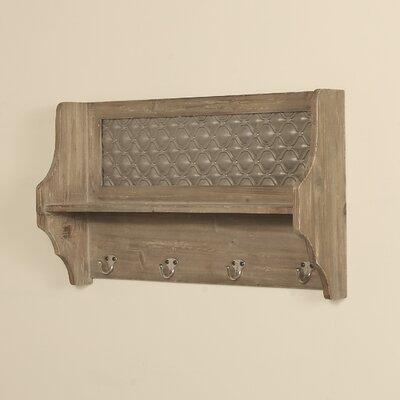 Brampton Coat Rack with Shelf