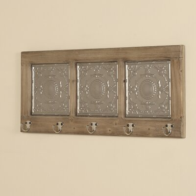 La Palma Coat Rack with Metal Tin Insets