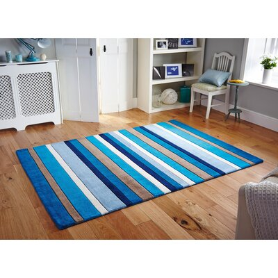 Andover Mills Inca Blue/Brown Rug
