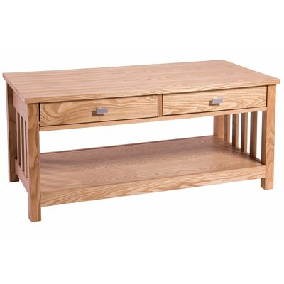 Andover Mills Hyder Coffee Table with Magazine Rack
