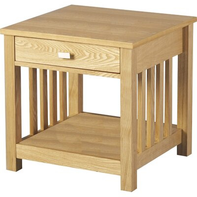 Andover Mills Eaton 1 Drawer Side Table