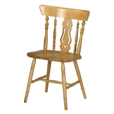 Andover Mills Schley Solid Rubberwood Dining Chair