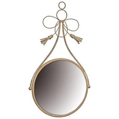 Andover Mills Constance Braided Tassle Wall Mirror
