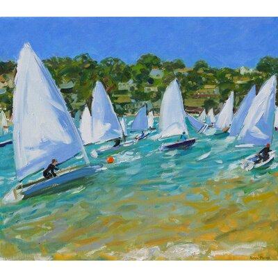 Andover Mills Sailboat Race Art Print