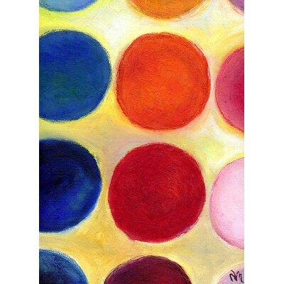 Andover Mills The Happy Dots 5, 2014 Charalambous Art Print