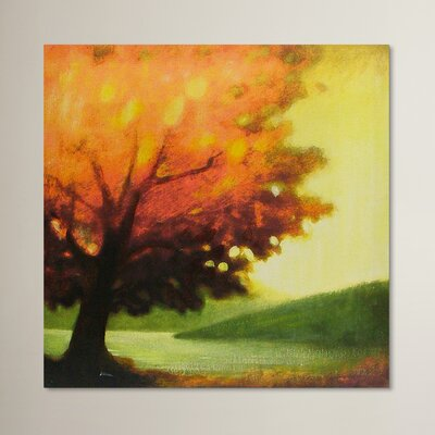 Andover Mills Autumn Fall Art Print Wrapped on Canvas