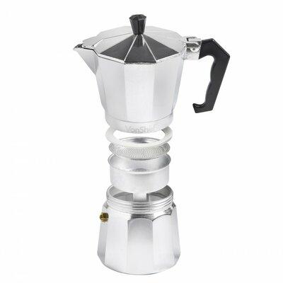 Stovetop Espresso Maker Size: 6 Cup