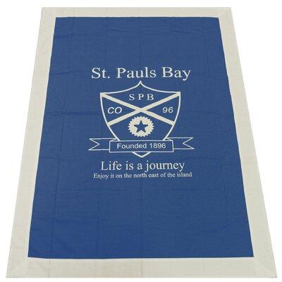 Dutch Decor Plaid St. Pauls Bay Throw Blanket
