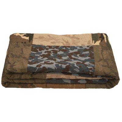 Dutch Decor Plaid Quilted Throw Blanket