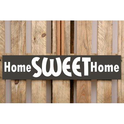 Factory4Home Schild-Set BD-Home sweet Home, Typographische Kunst