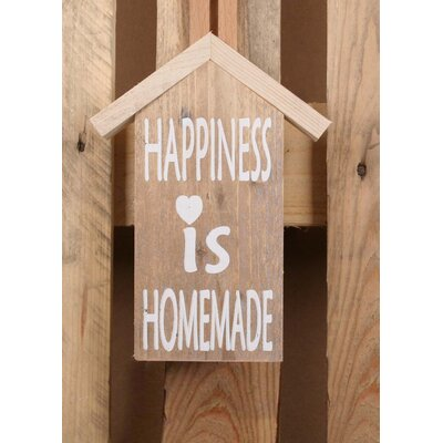 Factory4Home Schild-Set HS-Happiness, Typographische Kunst