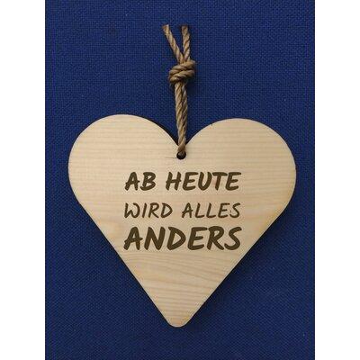 Factory4Home Schild-Set HH-Ab heute, Typographische Kunst