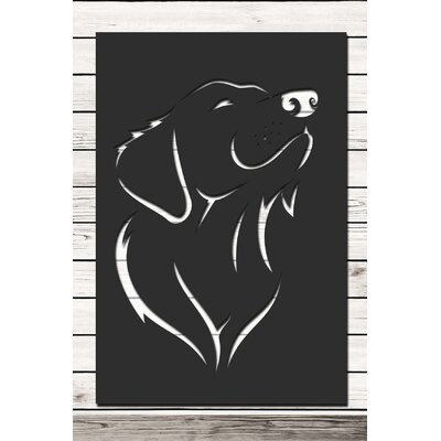 Factory4Home Schild-Set SH-Dog, Grafische Kunst in Schwarz