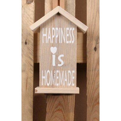 Factory4Home Schild-Set HS-Happiness, Typographische Kunst