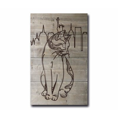 Factory4Home Schild BD-Cat, Grafische Kunst