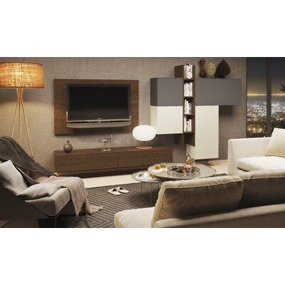 Denwar 9-tlg. Wohnzimmermöbel Set Espace