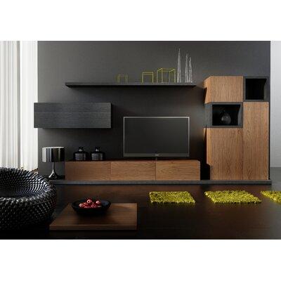 Denwar 7-tlg. Wohnzimmermöbel Set Sol Negro Kombo 2